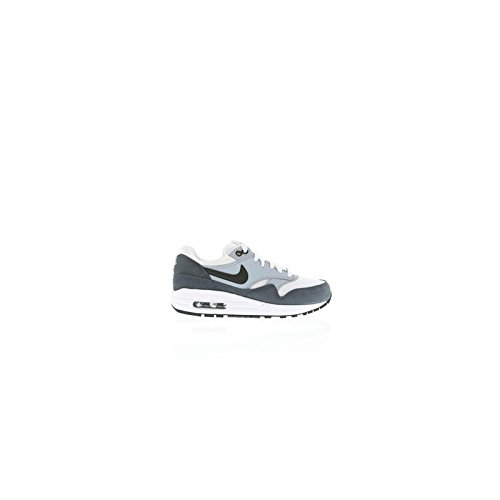 brand new 82ac7 5d448 Galleon - NIKE Air Max 1 (GS) Youth Kids Trainers 555766 Sneakers Shoes (UK  5.5 Us 6Y EU 38.5, White Black Light Magnet Grey 109)