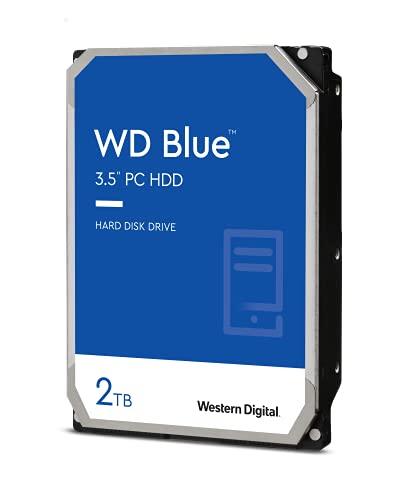 """Western Digital Blue 3.5"""" 2000 GB Serial ATA III - Disco Duro (3.5"""", 2000 GB, 5400 RPM)"""