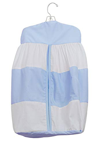 Baby Doll Lodge Collection Diaper Stacker, Blue