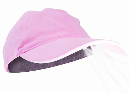 Walking Baseball (Panther Vision PUP POWERCAP LED Unisex Lighted Dog Walking Hat - 100% Cotton Twill Pink)