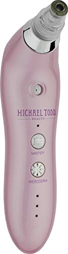 Michael Todd Sonic Refresher Wet/dry Sonic Microdermabrasion System With Micromist Technology, Pink