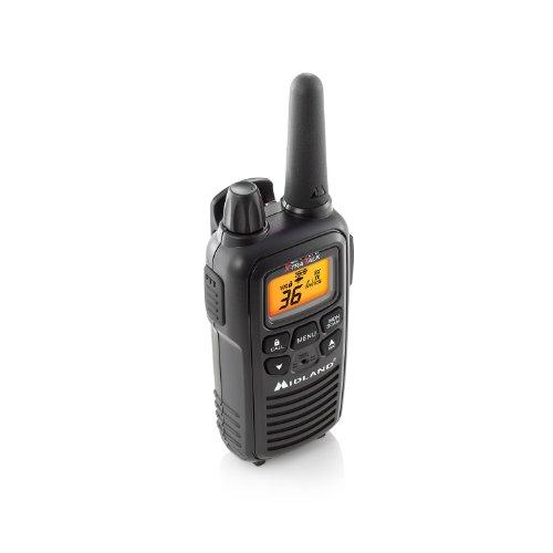 Midland - LXT600VP3, 36 Channel FRS Two-Way Radio - Up to 30 Mile Range Walkie Talkie, 121 Privacy Codes, NOAA Weather Scan + Alert (Pair Pack) (Black) by Midland (Image #8)