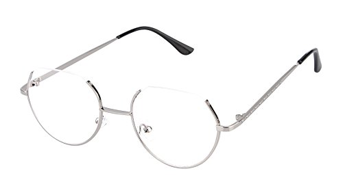 La Vogue Classic Retro Square Clear Lens Eyeglasses Metal Glasses Frame - Vogue Eyeglass