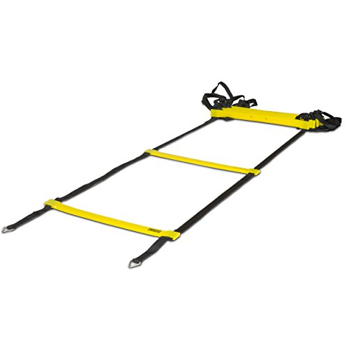 Slayed Sports AGILITY LADDER (15FT) by Workout Equipment Includes Metal Pegs, Carry Bag, and BONUS E-book with Video of Agility Drills and Athletic Development Tips | by Slayed Sports (Image #8)