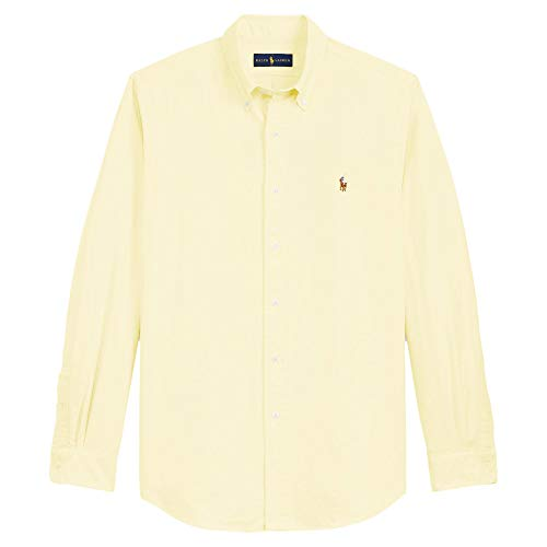 Ralph Lauren Men Solid Sport Oxford Shirt (M, ()