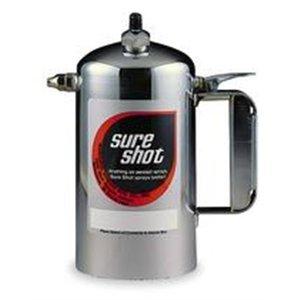 Sure Shot® Sprayers - 1qt enameled steel sprayer model-a red by Milwaukee Sprayer