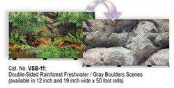 Double Sided Rain Fresh Aquarium Background, 12\