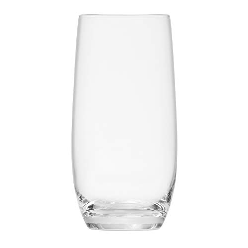 Schott Zwiesel Tritan Crystal Glass Banquet Barware Collection Long Drink/Iced Beverage Cocktail Glass, 18.2-Ounce, Set of 6