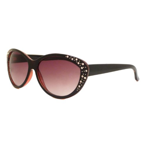 CAT EYE Style Women Vintage Oversized Rhinestone Sunglasses - Sunglasses Vintage 1950s 1960s Mens