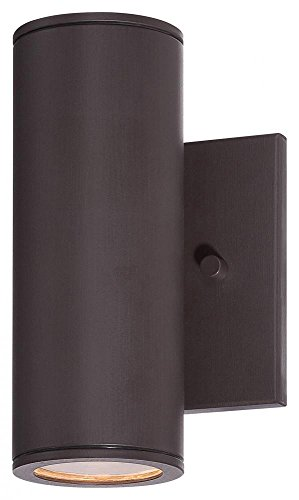 "Minka Lavery Minka 72501-615B-L Transitional One Light LED Wall Mount from Skyline collection in Bronze/Darkfinish 1 Bracket Tested 3"", Upc-747396092324, 7.75"" Height"