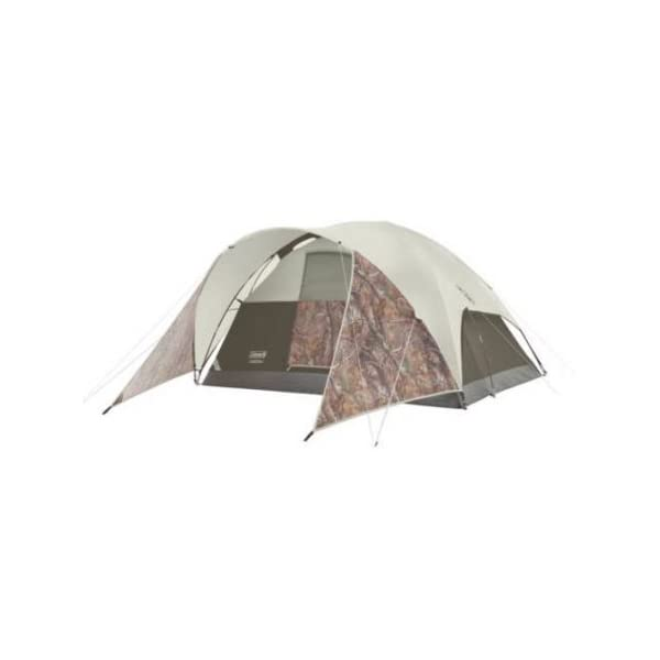 Coleman-Evanston-Realtree-Xtra-4-Person-Tent-Camo-Polyester-Water-Resistant-4-Person-Tent