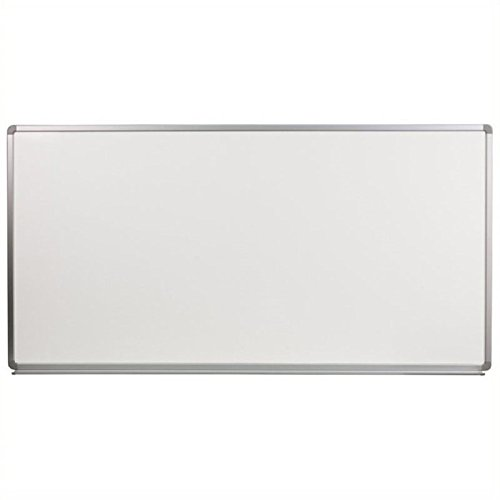 Scranton and Co 36'' x 72'' Porcelain Magnetic Marker Board in White by Scranton & Co