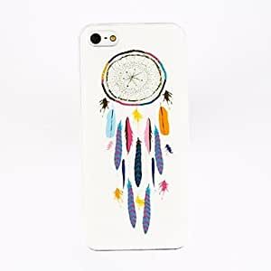 conseguir Patrón pendiente de la pluma de policarbonato casos duros para el iPhone 4/4S , Multicolor
