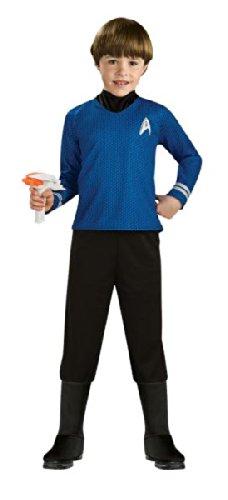 Morris Costumes Star Trek Child Blue Small