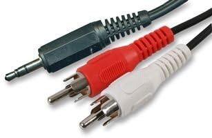 Mini-Klinke//Mini-Klinke Audio-Kabel 2 m m//m