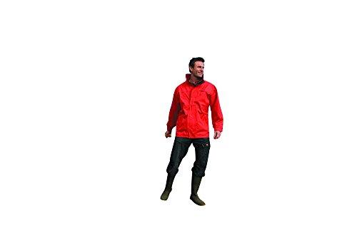 RT67 Multifunction Midweight Jacke Kapuze wasserdicht winddicht, Farbe:Red-Navy;Größen:XS