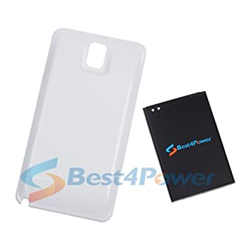 best4power Samsung Galaxy Note 3 Extended batería de 8000 ...