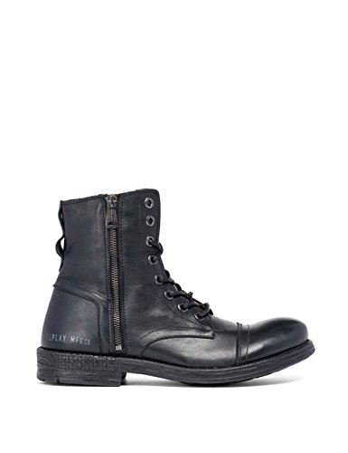 Men's Men's Boots Black Leather Ankle REPLAY TdxHwBqTt