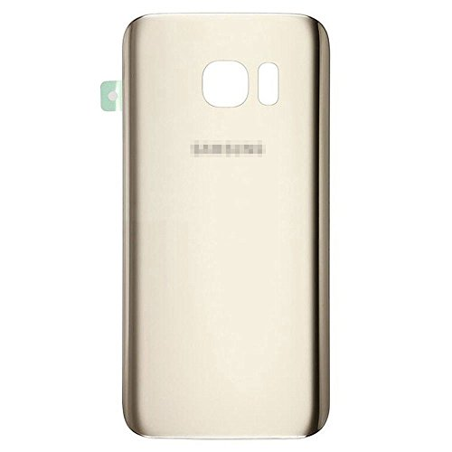 Lot of 2 Back Rear Glass Cover for Samsung Galaxy S7 w/Adhesive Gold SM-G930 from Group Vertical