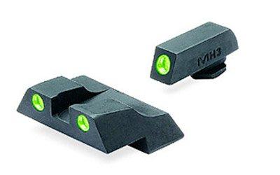 Meprolight Tru - Dot ML - 10226 Fixed Front / Rear Sights for Glock 26 & 27 by MEPROLIGHT