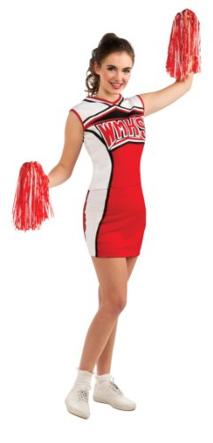 Glee Adult Cheerleader Costume, Standard Color, Standard ()