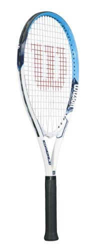 Wilson Essence Adult Strung Tennis Racket, 4 1/4