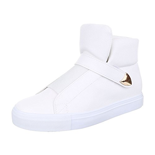 Ital-Design - Zapatillas altas Mujer Weiß