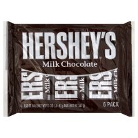 Hershey's Milk Chocolate Bars, 6-Count, 1.55-Ounce Bars (Pack of 3) by HERSHEY'S