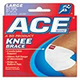 Ace Woven Knee Support, Large - 1 ea