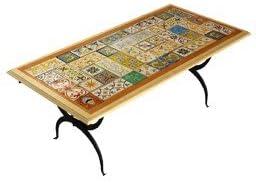 Dafnedesign. com – Mesa con Mosaico de jardín y de taverna Mod ...