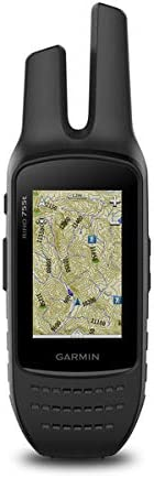Garmin Rino 755t, Rugged Handheld 2-Way Radio GPS Navigator with Camera and Preloaded TOPO Mapping