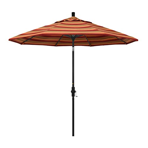 California Umbrella GSCU908302-56095 Tahoe Series Patio Umbrella, 9 Rd. Astoria Sunset