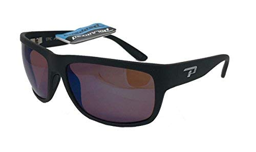 8d7d8bcf49 New Peppers Polarized Sunglasses Orca Matte Black with Rose Polarized Blue  Lens