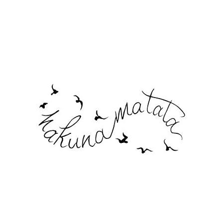 Tatuajes Temporales Tattify de Hakuna Matata – Vuelo (Set de 2 ...