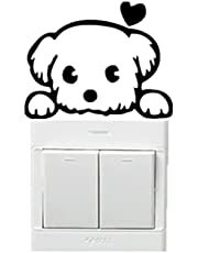 Dog Wall Sticker for the Doorbell or the Switch Light