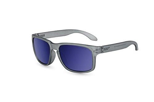 Pegaso 55 Sol Gafas Revo Rocky Azul Espejo Unisex de Gris RwPaqRg