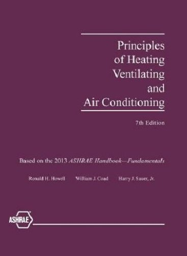 Principles of Heating, Ventilating and Air Conditioning, 7th Edition