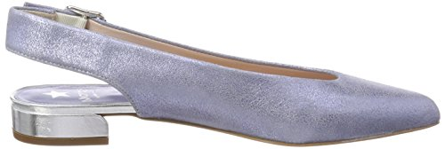 Maripé 26411 Damen Pompe Blu Slingback (burma Cielo / Laguna)