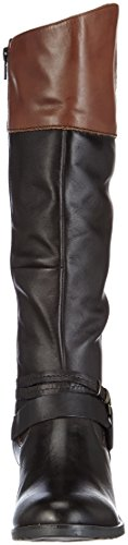 Jane Klain 266 315 - botas de caño alto de cuero mujer marrón - Braun (mocca ld 366)