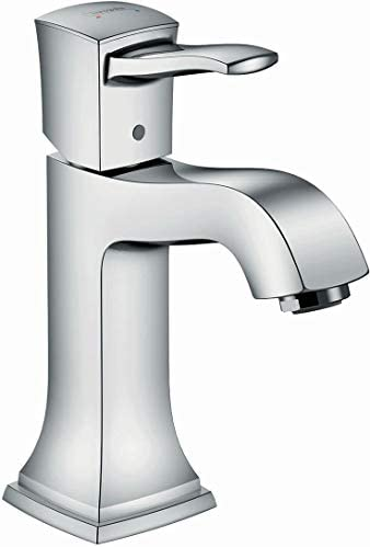 hansgrohe Metropol Classic Classic 1-Handle 1 8-inch Tall Bathroom Sink Faucet in Chrome, 31300001