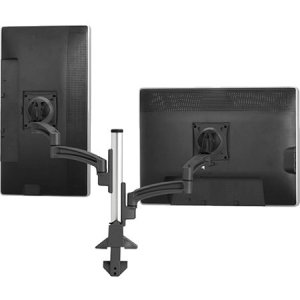 Chief Manufacturing K2 Column Mount Dual Display Dual Stand 2l Arms, Black K2C220B (Chief Dual Display)