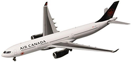 Gemini Jets Air Canada A330-300 C-Gfaf 1:400 Scale Die Cast Airplane (Canada Aircraft Replica)