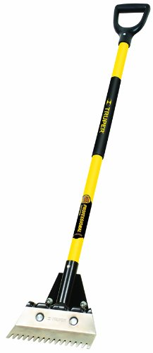 Truper 33129 Tru Pro 37-Inch Asphalt Shingle Remover, Fiberglass D-Handle
