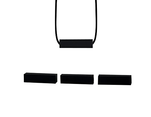 Stimtastic Chewable Silicone Block Necklace Nontoxic BPA and