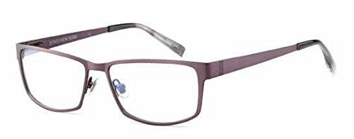 Matte Gunmetal Demo Lens - Jones New York Eyeglasses J327 Matte-Gunmetal :: DEMO LENS