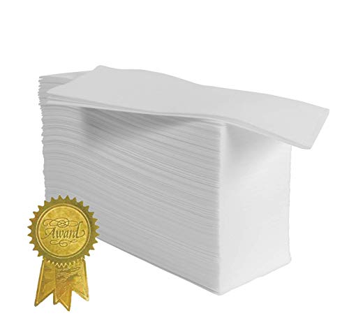 100 Pack Disposable Guest Towels – Linen-Feel Hand Napkins