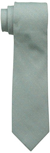 Ben Sherman Men's Solid Donegal Tie, Green, One Size -