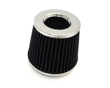 """BLUE 3.5 Inches 3.5/"""" 89mm Inlet Cold Air Intake Cone Long TRUCK FILTER Chevrolet"""