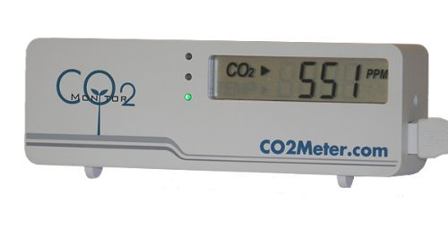 CO2Meter RAD-0301 Mini CO2 Monitor, White by CO2Meter