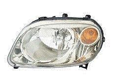 New Left Headlamp Headlight (Fits 06 07 08 09 10 11 Chevrolet HHR Headlight Driver NEW Headlamp w/ clear lens left front)